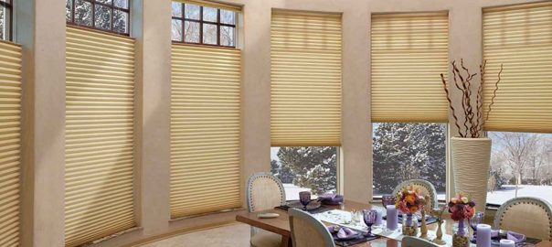 Duette® Architella® Vertiglide™ Honeycomb Shades