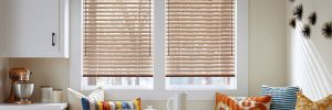 Hunter Douglas natural elements aluminum horizontal blinds