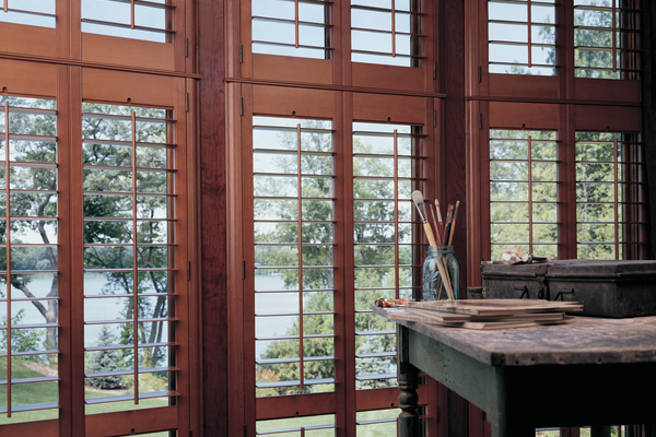 Shutters - real wood 1