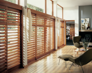 Shutters - real wood
