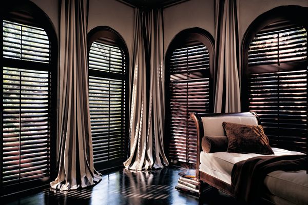 Shutters specialty shapes - real